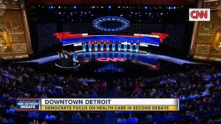 Downtown Detroit: Dems focus on health care in 2nd debate