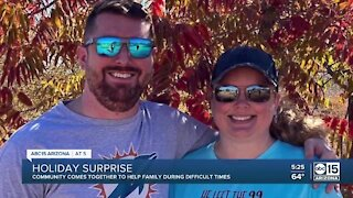 Community rallies around Chandler family for the holidays