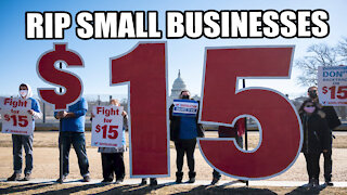 Minimum Wage Increase will DESTROY Small Businesses