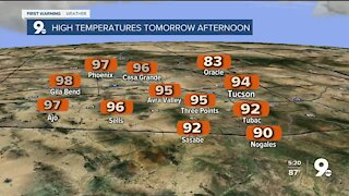 Record heat will soon be pushed aside