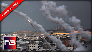 BREAKING: HUNDREDS of Rockets Rain Down on Israel - Escalation as People Frantically Take Cover