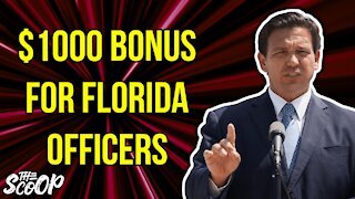 Gov. DeSantis Makes Announcement After Giving Bonuses To First Responders