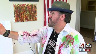 KC area veteran says painting 'literally saved my life'