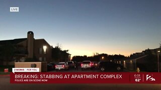 Stabbing at apartment complex in Tulsa