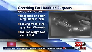 Bakersfield police searching for 2017 homicide suspect