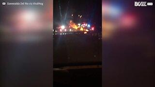 Pericoloso incidente causa esplosione negli USA
