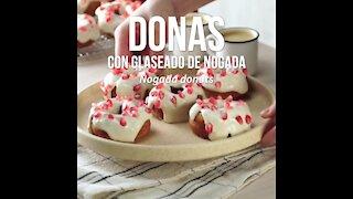 Glazed Nogada Donuts