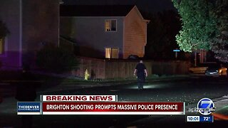 Police swarm Brighton neighborhood after shooting leaves 2 wounded