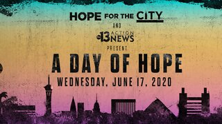 Day of Hope: Volunteer talks about the effort put into their community