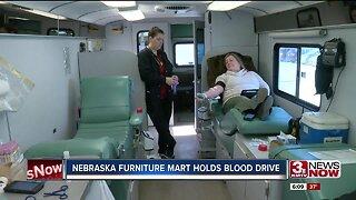 American Red Cross holds blood drive at Nebraska Furniture Mart