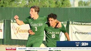 Garces Memorial boys soccer win third straight valley championship, beating Lindsay 4-1