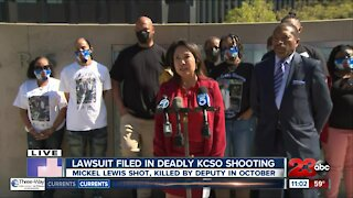 Lawsuit filed in deadly 2020 KCSO shooting
