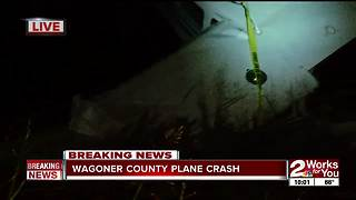 Plane crashes in Wagoner County