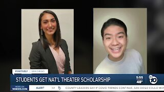 Students get national theater scholarship