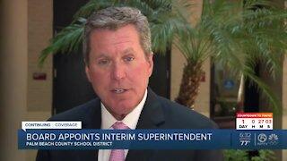 Palm Beach County School Board appoints interim superintendent