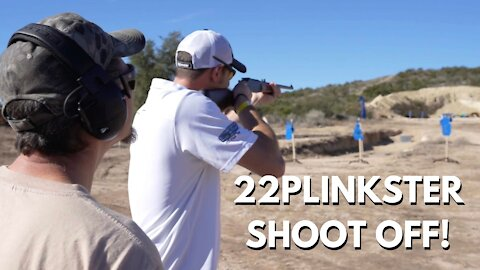 Friendly Shoot off with 22Plinksters at the Gundies Range Day