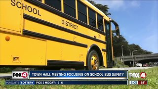 Town hall meeting Tuesday will focus on school bus safety in Lee County