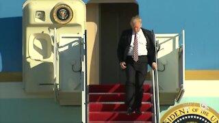 President Trump to discuss environmental policies in Jupiter