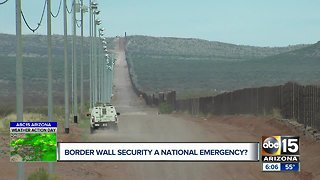 """Is """"national emergency"""" justified at the border?"""
