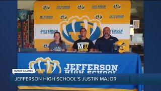 WXYZ Senior Salutes: Jefferson High School's Justin Major