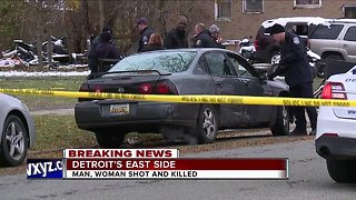 2 killed in shooting on Detroit's east side