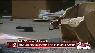 Glenpool police evidence followup 1