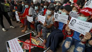 President Biden Imposes Sanctions On Myanmar Military Involved In Coup