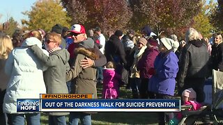 FINDING HOPE: Out of the Darkness Walk raises awareness for suicide prevention