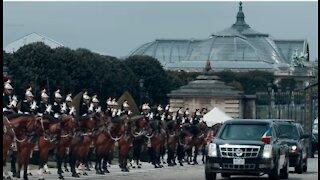 President Trump Visits France in 2017