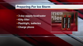Preparing for the ice storm