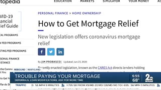 Trouble paying your mortgage?