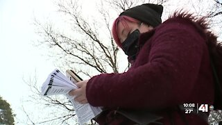 Volunteers conduct count of people experiencing homelessness
