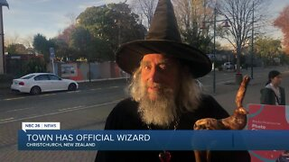 Town has official wizard