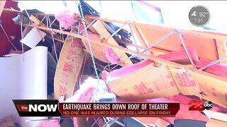Ridgecrest earthquakes destroy community's theater