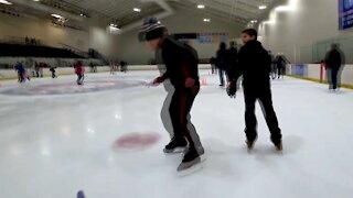 Kid Videos Ice Skating Fun POV with Jackie!