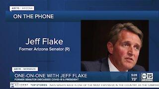Former Senator Jeff Flake discusses President Trump, COVID-19