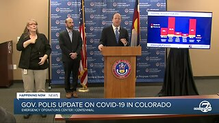 Colorado Gov. Jared Polis outlines tiered response plan for COVID-19 outbreak
