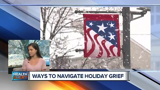 Ways to navigate holiday grief