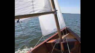 Sailing Grace: Grace Gets a Jib!