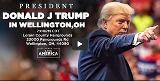 President Donald Trump Rally in Wellington, OH