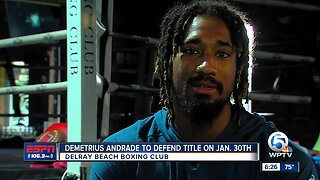 Demetrius Andrade to defend title against Luke Keeler on Jan. 30