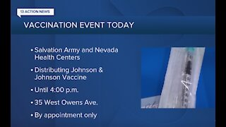 Salvation Army joins Nevada Health Centers to distribute COVID vaccines
