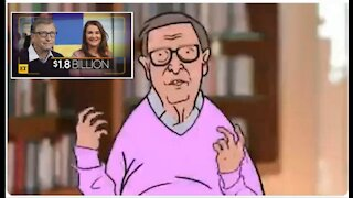 Gates Divorce - Plus Satire