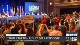 Trump campaign pushes for Latino vote
