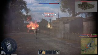 War Thunder - Great 3.7 Tank Action & 3rd Place Victory
