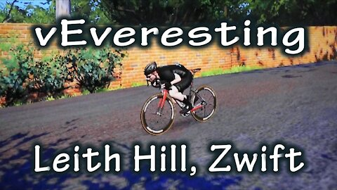 Virtual Everesting - Leith Hill, Zwift (Physical Challenge #4)