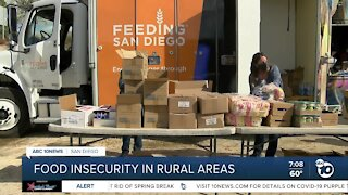 Fighting food insecurity in San Diego County's rural areas