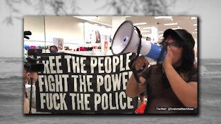 Black Lives Matter Protesters in Target