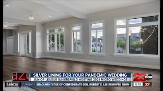 Junior League of Bakersfield bringing a silver lining to pandemic weddings