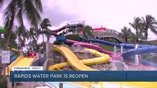 Rapids Water Park reopens in Riviera Beach
